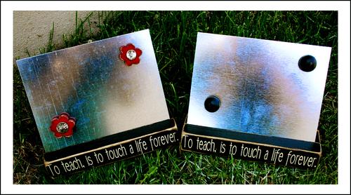 Teacher Appreciation Magnet Boards